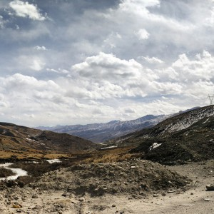 January_27__2015_at_0833AM_Bus_from_yushu_to_ganzi.__Tibet__China__travel__mountains