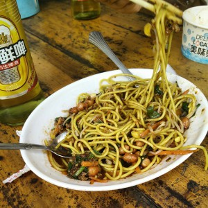 February_08__2015_at_0337PM_Mmnh__cold_noodles_in_Mengyang._Plus__I_bought_2beers_and_won_an_other_one__chinesefoodporn